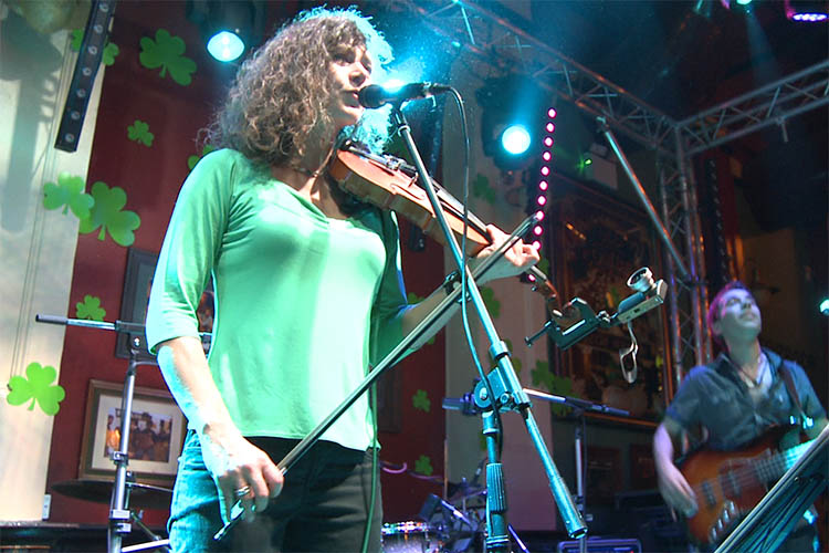 Great party band featuring Irish fiddle/rock violin | Rock your